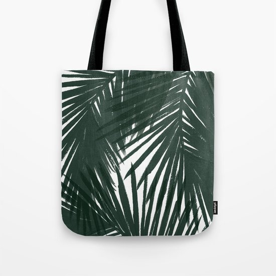 Palms Green Tote Bag