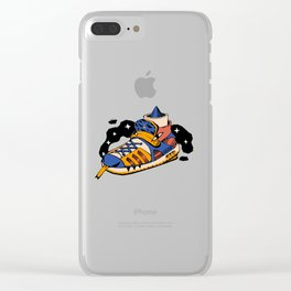 Monster Sneaker Street Style Fashion Clear iPhone Case