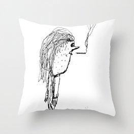 Milktoast Throw Pillow