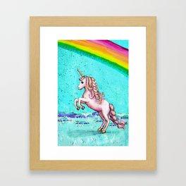 Rainbow's End: Elise Finds Her Courage Framed Art Print
