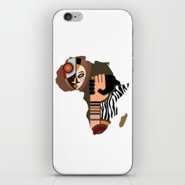 African Unification iPhone Skin
