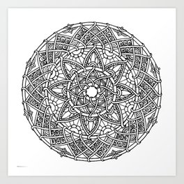 Family: Forever intertwined Art Print
