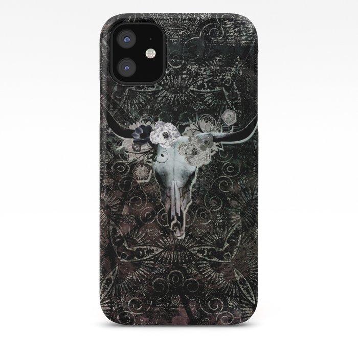 Skull Floral iPhone 11 case