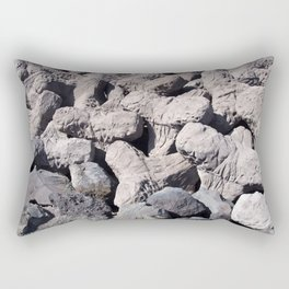 Abstract Concrete - Tetrapods Rectangular Pillow
