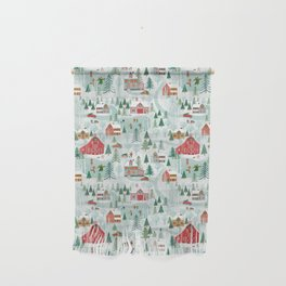 New England Village (pattern) Wall Hanging