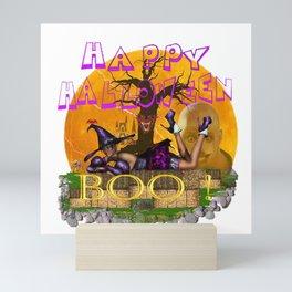 Halloween Witch Mini Art Print