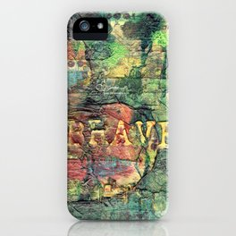 Permission Series: Brave iPhone Case