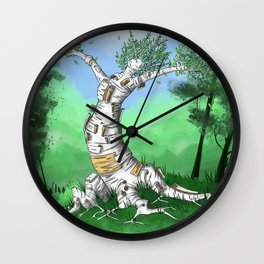 Happy Little Tree Wall Clock