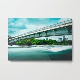 Goat Island Bridge - Niagara Falls Metal Print