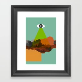Stargate 001 Framed Art Print