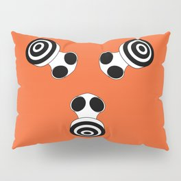faces: Keep Breathing Pillow Sham