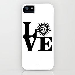 Supernatural Love iPhone Case