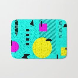 Hello Memphis Lemon Splash Bath Mat