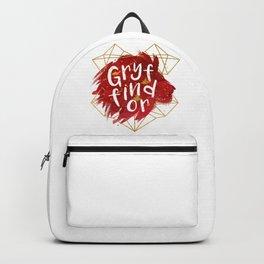 Gryffindor Gold Splatter Backpack