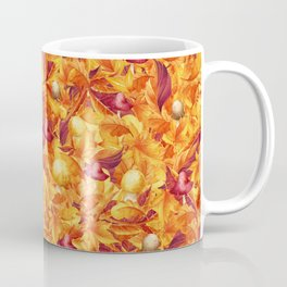 Autumn Leaves and Mushrooms Coffee Mug