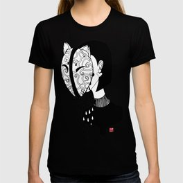 cry, lady ,cry T-shirt