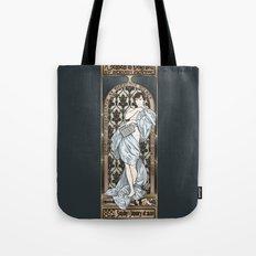 A Scandal in Belgravia - Mucha Style Tote Bag