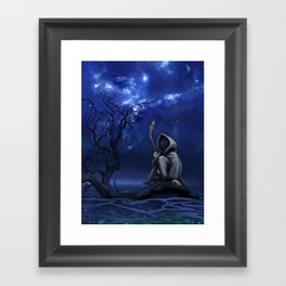 LOOM: Under the Stars Framed Art Print