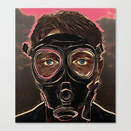 INFERNO MASK DOWNFALL Canvas Print