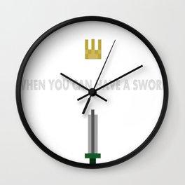 8-Bit-Hero Wall Clock