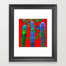CACTES Framed Art Print