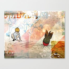 The Games We Play Canvas Print