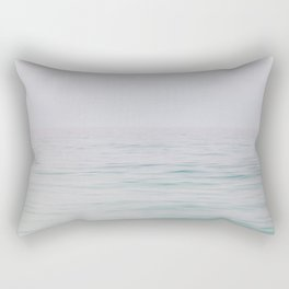 Rolling Waves - Lake Michigan Photography Rectangular Pillow