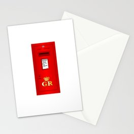 Traditional British  Georges Reign Postbox Stationery Cards