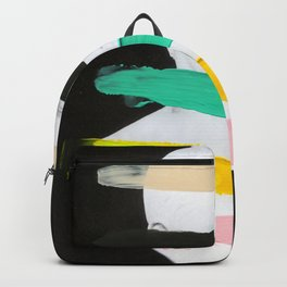 Untitled (Finger Paint 1) Backpack