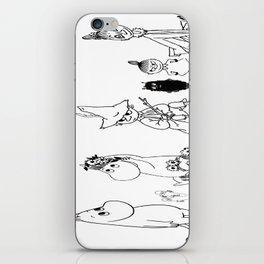 Moomin iPhone Skin