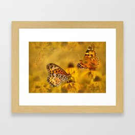 Echoes of Nature Framed Art Print