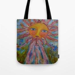 Miss Sunshine - Whimsies of Light Children Series Tote Bag