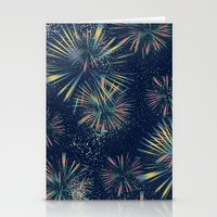 fireworks Stationery Cards featuring Fireworks! by LLL Creations