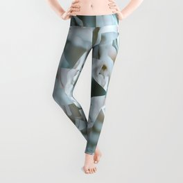 Abstract roses Leggings