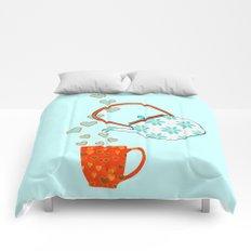Tea Time Love Comforters