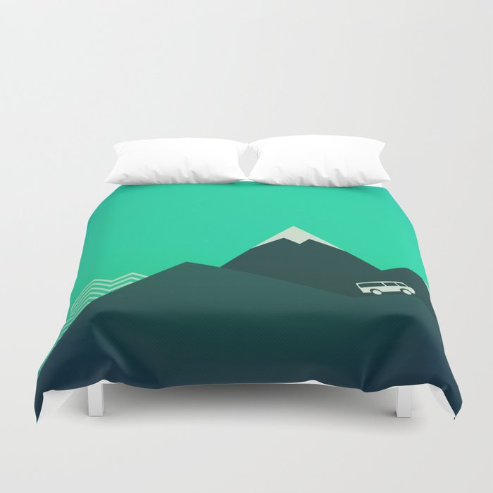 Travel! Duvet Cover