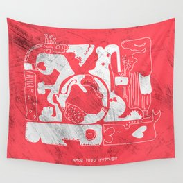 amor todo invencible Wall Tapestry