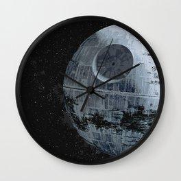Empire Death Star Sci-fi Illustration Film Movie Pop art Home Decor Geeky Nerdy Art Wall Clock