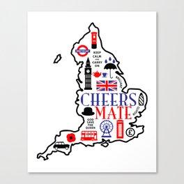 England Love Canvas Print