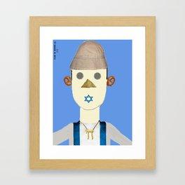 The Israeli Framed Art Print