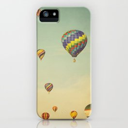 Floating in Space iPhone Case