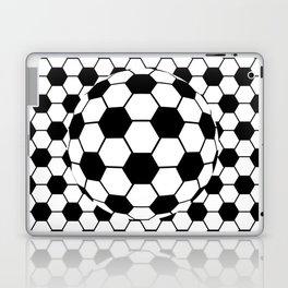 Black and White 3D Ball pattern deign Laptop & iPad Skin