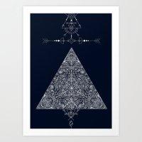 Sacred Temple Posters Art Print