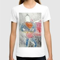 superman T-shirts featuring Superman by Jennifer Cooper