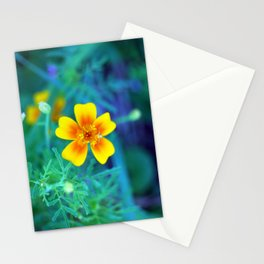 Blooming Contrast Stationery Cards
