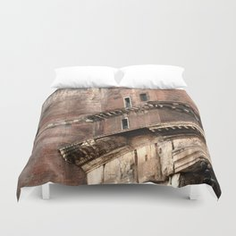 Pantheon of Rome Side View Duvet Cover