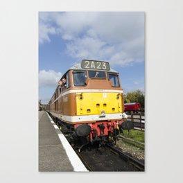 Diesel loco 5830 portrait Canvas Print