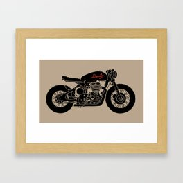 Cafe Racer - HANDSOME DEVIL'S CLUB (1/3) Framed Art Print