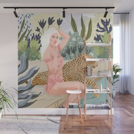 How to Train Your Leopard Wall Mural