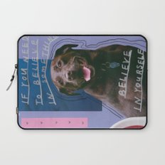 dog knows best Laptop Sleeve